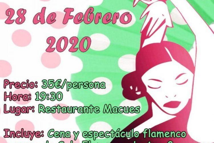 Manilva celebra una cena de gala flamenca con un espectáculo en directo