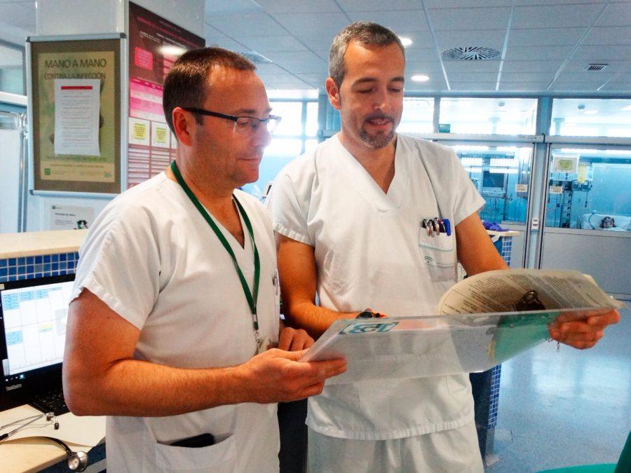 Médicos en el Hospital Costa del Sol de Marbella.