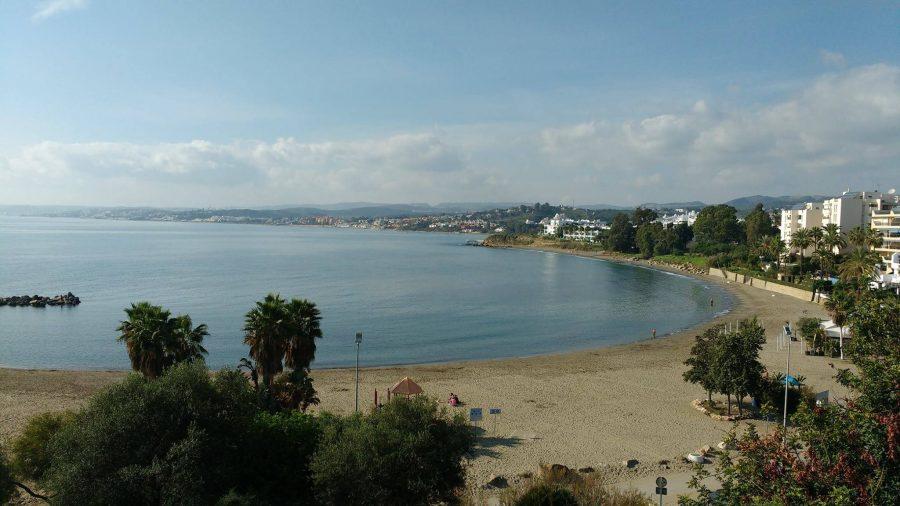 Imagen de la playa del Cristo.