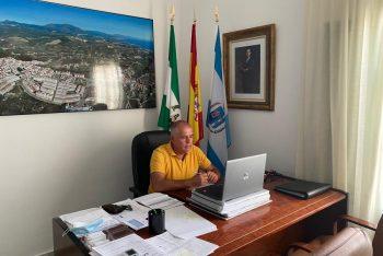 Reunión de los alcaldes con la Junta para coordinar acciones contra la pandemia