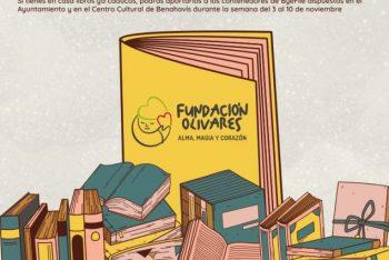 Dona tus libros de lectura o de texto por una buena causa en Benahavís
