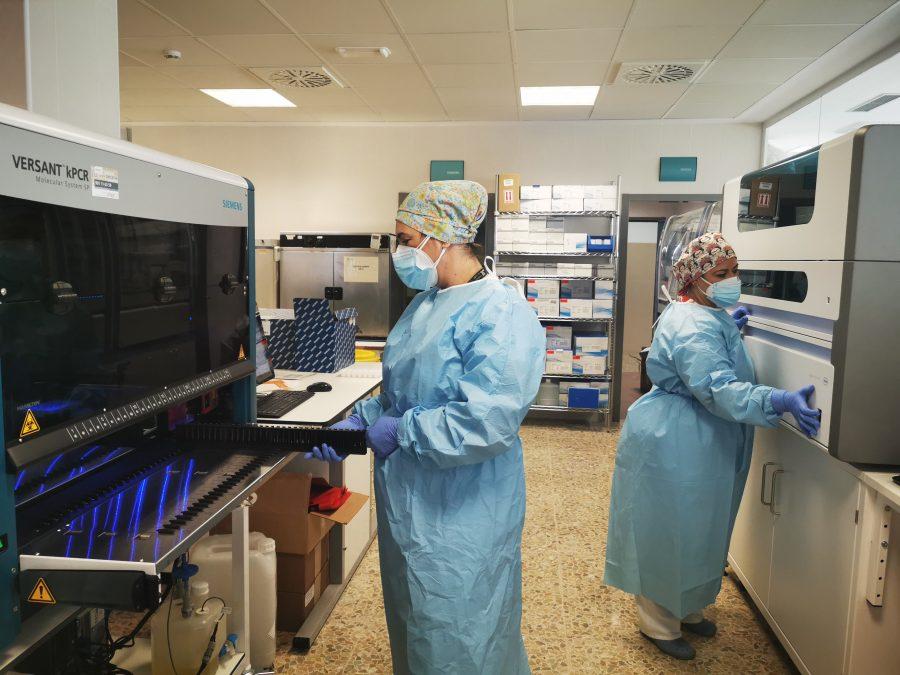 Robots para la detección masiva del coronavirus en el Hospital Costa del Sol.