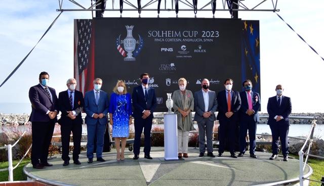 Presentación de la Solheim Cup en Puerto Banús.