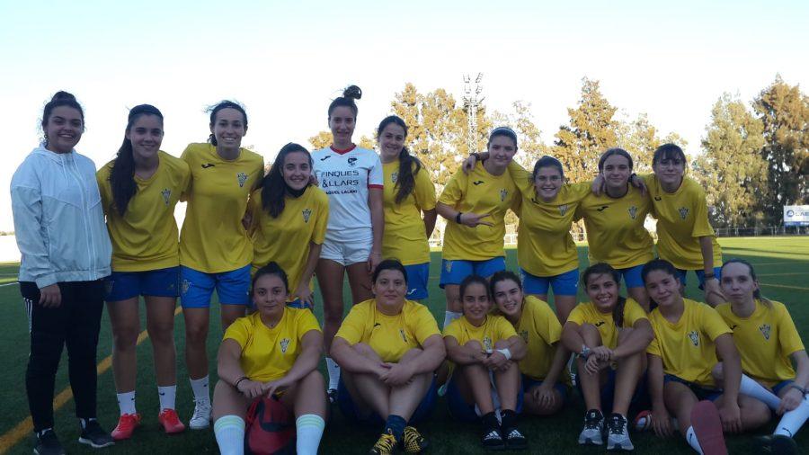 Equipo de fútbol femenino del Trebujena Balompié.