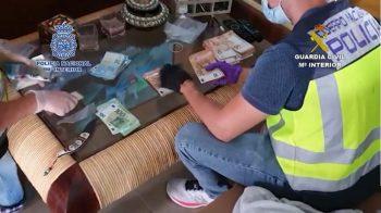 Cae una violenta organización de narcotraficantes en las provincias de Málaga y Jaén