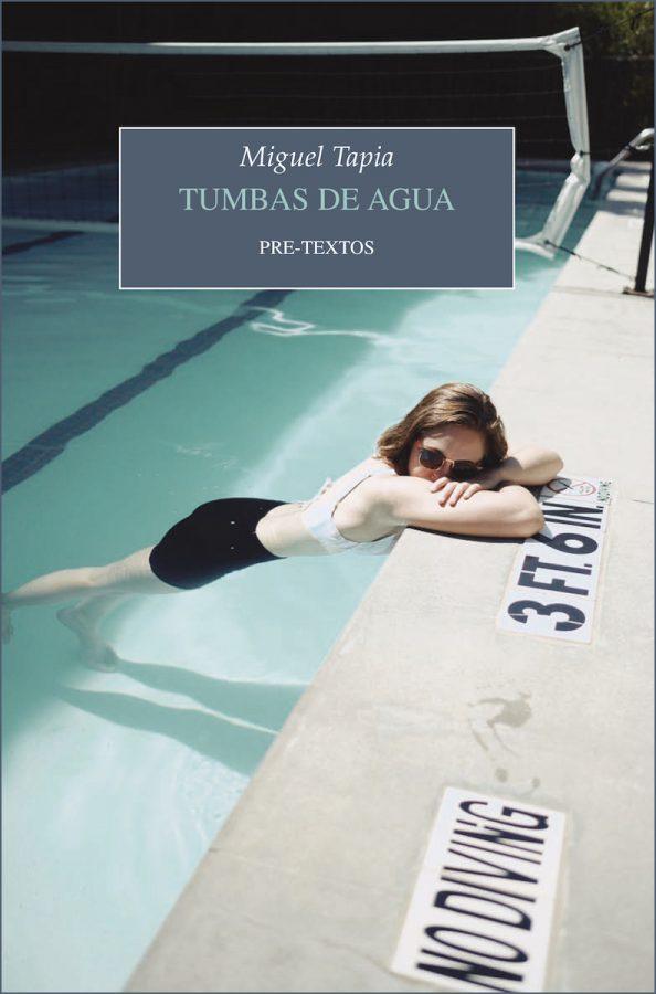 Portada de 'Tumbas de Agua', de Miguel Tapia.