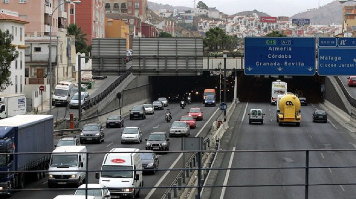 Imagen de uno de los accesos a Málaga capital. / Archivo