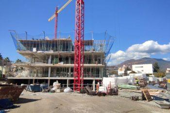 El nuevo Ayuntamiento de Estepona alcanza el 30 por ciento de su ejecución