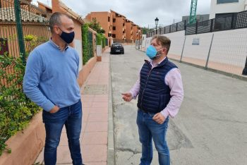 Actuaciones en Los Hidalgos con mejoras en las calles Rubí y Jade
