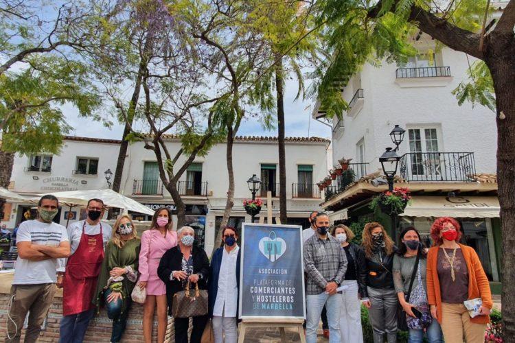 Asociación Plataforma de Comerciantes y Hosteleros de Marbella. / D.MACÍAS