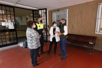 Charlas en los colegios por parte de la Policía Local, en Marbella.