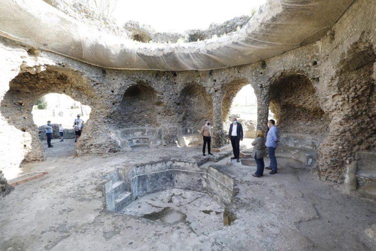 Visita a los yacimientos ubicados en Guadalmina.