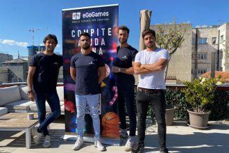 Presentación del Torneo Bubble Shooter, en Madrid.