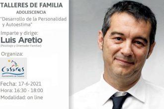 Talleres de Familia, con Luis Aretio.