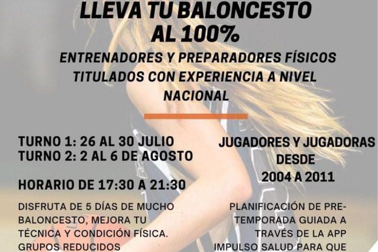 Manilva lanza un nuevo campamento relacionado con el Baloncesto para este verano