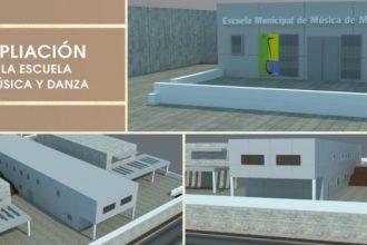 Ampliación de la Escuela Municipal de Música, Danza y Teatro de Manilva.