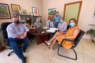 Reunión de los distintos municipios de la Costa del Sol con Salud.