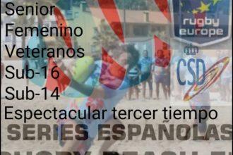 Series Españolas Rugby Beach 5, en Manilva.