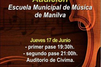 Audiciones de la Escuela Municipal de Música de Manilva.