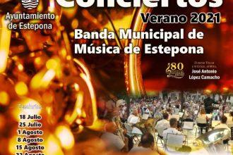 Temporada de conciertos de la Banda Municipal de Música en Estepona.