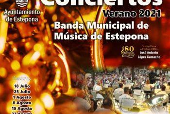 La Banda Municipal de Música da su tercer concierto de la temporada el domingo 1 de agosto