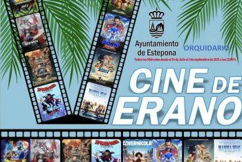 El Orquidario de Estepona acoge el Cine de Verano a partir de este miércoles