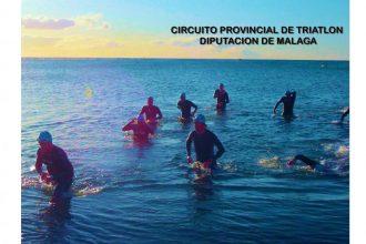 XXIII Triatlón Villa de Estepona 2021, que se celebrará el 15 de agosto en la playa de la Rada.
