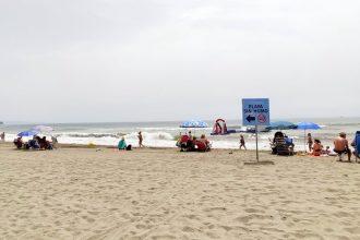 Playa sin humos, La Rada en Estepona.