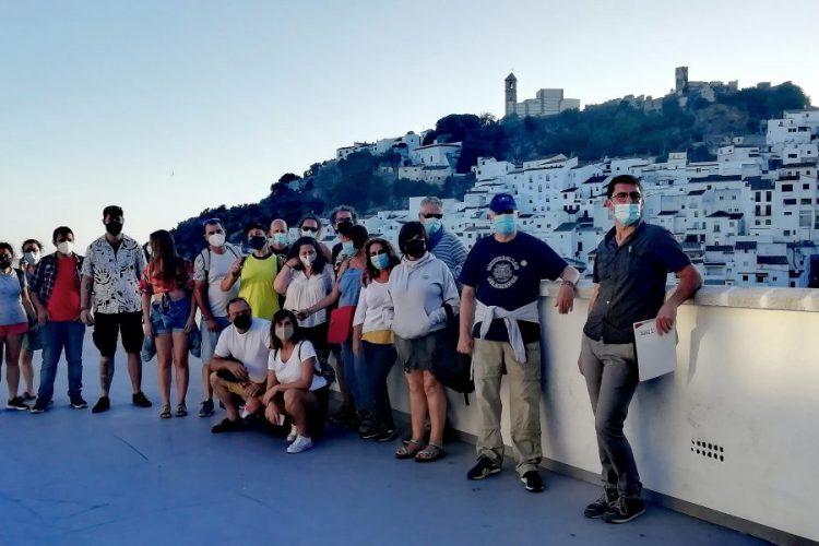 Imagen de la visita a Casares.