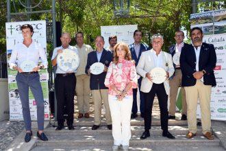 Marbella celebra el circuito de golf de cuatro torneos a beneficio de la AECC.