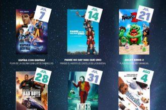 Cartel cine de verano Manilva