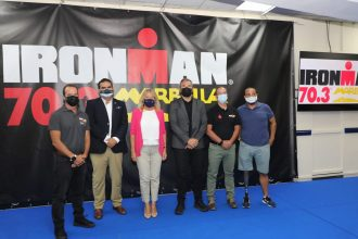 Presentación Ironman 70.3 en Marbella.