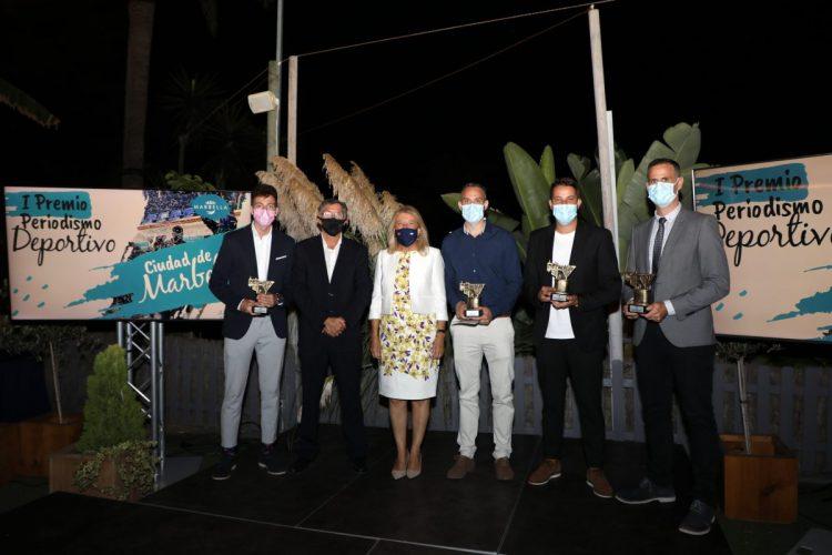 Jesús Ortiz, Daniel Marín, Alberto Fuentes y Julio Rodríguez ganan los premios de periodismo deportivo de Marbella