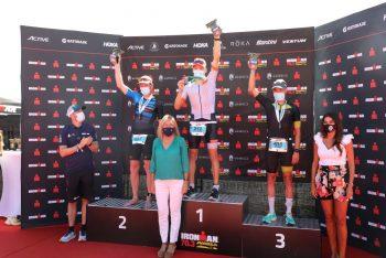 Éxito del Ironman y  alto nivel de una prueba donde el equipo de 'Marca Marbella' ha ganado en relevos mixtos