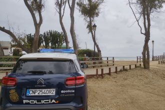 Policía Nacional de Marbella.