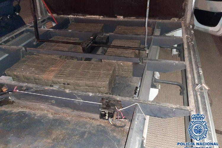 La Policía Nacional desarticula en Marbella una organización criminal dedicada al tráfico de hachís