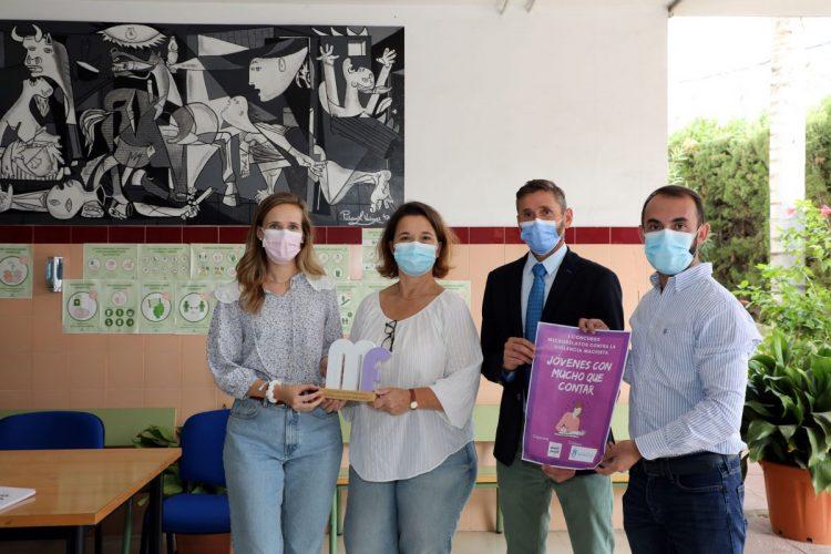 Presentación del I Concurso de Microrelatos contra la Violencia Machista, en Marbella.
