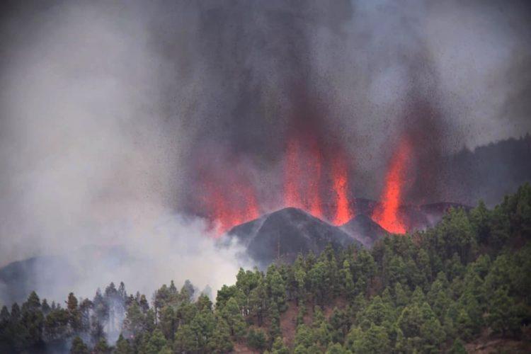 Volcán La Palma.